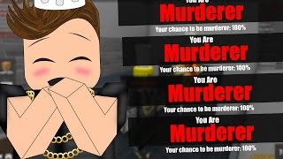 Download 100% CHANCE TO BE MURDERER (Roblox Murder Mystery 2) Video