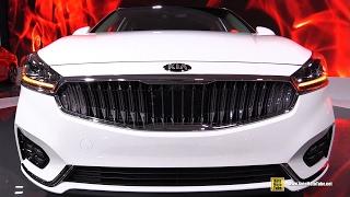 Download 2017 KIA Cadenza - Exterior and Interior Walkaround - 2017 Toronto Auto Show Video