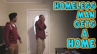 Download Homeless Man Gets A Home Video