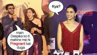 Download Deepika Finally Reacts On Ranveer Singh's Comment on Making Her PREGNANT In 6 Months Of MARRIAGE Video