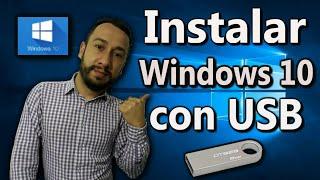 Download DESCARGAR e Instalar WINDOWS 10 desde cero con USB 💻📆 (2018) Video