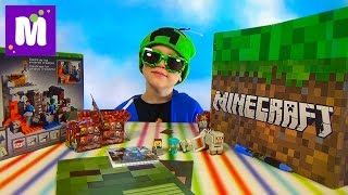 Download Майнкрафт большая коробка с сюрпризами и игрушками Minecraft Video