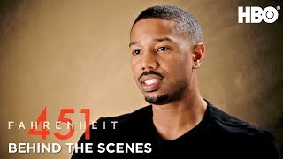 Download Inside Fahrenheit 451 w/ Michael B. Jordan, Ramin Bahrani & Cast | HBO Video