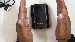 Download Samsung 9000mAh Powerbank Review Complete Hands on Video