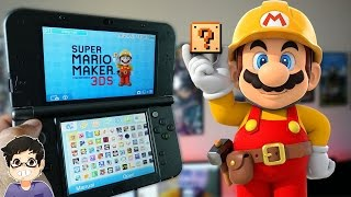 Download Super Mario Maker for Nintendo 3DS Review! Video