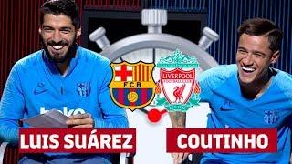 Download 7 SECOND CHALLENGE BARÇA-LIVERPOOL   Luis Suárez & Coutinho Video