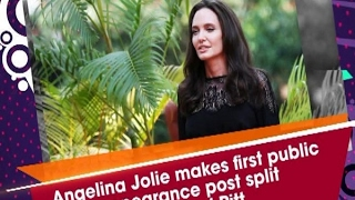 Download Angelina Jolie makes first public appearance post split with Brad Pitt - ANI #News Video