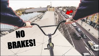 Download *POLICE ESCAPE* BMX ROOFTOP DROP IN! Video