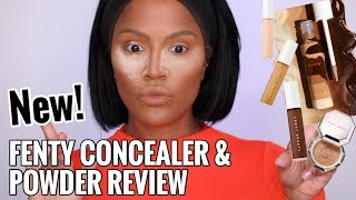 Download LETS KEEP IT 100! Fenty Beauty Concealer & Setting Powder Review Video