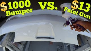 Download How bad is the $13 Harbor Freight Paint Spray Gun? Video