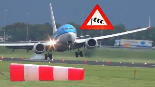Download ″Storm Sebastian″ 90° Crosswind-Landing at Polderbaan Amsterdam Schiphol ″Sturmtief Sebastian″ Video