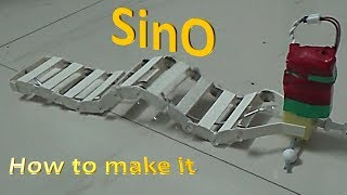 Download How to make SinO – A Wave / Worm Robot Video