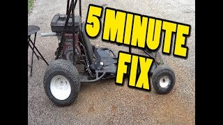 Homemade shifter kart floor/seat install Free Download Video MP4 3GP