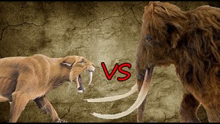 Download Saber-Toothed Tiger Pride vs Woolly Mammoth | SPORE Video