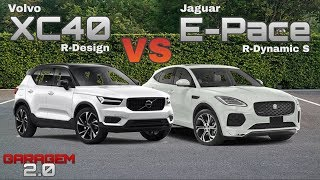 Download Volvo XC40 R-Design VS Jaguar E-Pace R-Dynamic - (Garagem 2.0) Video
