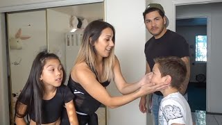 Download TXUNAMY GETS HER BELLY PIERCED PRANK ON DAD!! | Familia Diamond Video