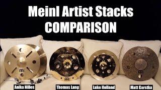 Download Meinl Artist Concept Model Stacks - Side By Side Comparison Video