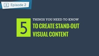 Download Visual Design Principles: 5 things you should know to create persuasive content Video