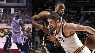 Download LeBron James vs Paul George! Both Drop 40, Dunk on Each Other! 2OT Video