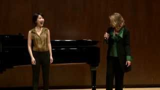 Download Renée Fleming Master Class, February 13, 2014: Hyesang Park and Bretton Brown Video