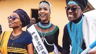 Download Miss SA Zozibini Tunzi in her brand new Apartment | Top Billing Video