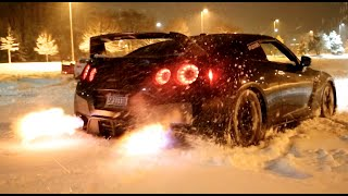 Download GTR Snow Launch Control Flamethrower! Video