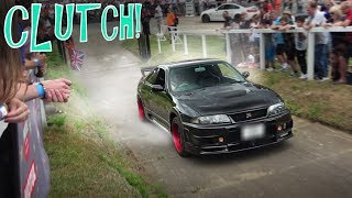 Download This Nissan Skyline R33 GTR Killed Its Clutch! Video