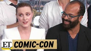 Download Comic Con 2017: 'Westworld' Star Evan Rachel Wood Reacts to Season 2: People Will 'Freak Out!' Video