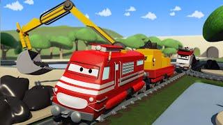 Download Xe lửa chở rác - xe lửa Troy 🚉 những bộ phim hoạt hình về xe tải l Vietnamese Cartoons for Kids Video