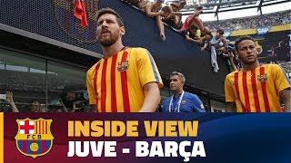 Download INSIDE TOUR | Behind the scenes Juve - Barça (ICC 2017) Video