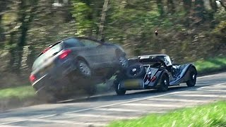 Download Morgan Pulls Out On Car - HUGE IMPACT! Video