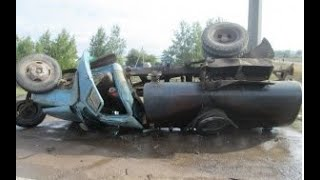 Download Новоуральск. ДТП газ-53 молоковоз 1994год. Video