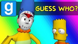 Download Gmod Guess Who Funny Moments - Springfield's New Police Force! (Garry's Mod) Video