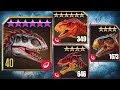 Download INDOMINUS REX Vs TYRANNOSAURUS REX,ALLOSAURUS,TYRANNOTITAN,MAJUNGASAURUS - Jurassic World The Ga Video