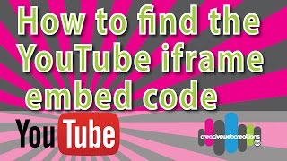 Download How to find the youtube iframe code or embed code 2015 Video