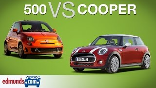 Download FIAT 500 vs MINI Cooper   Which Sub-Compact is Best? Video