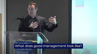 Download 2 tips for developing good management skills | London Business School Video