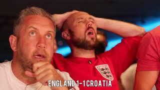 Download England V Croatia - Ex-Premier League Stars Honest Fan Reaction. Video