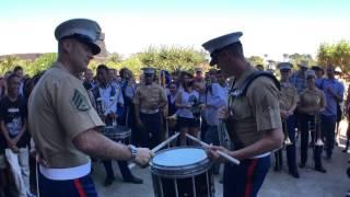 Download #SFBandChallenge15: Benicia Drumline VS 1st Marine Division Video