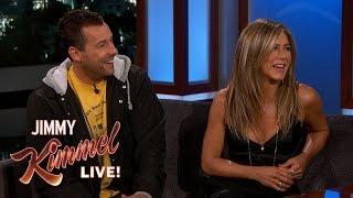 Download Jennifer Aniston & Adam Sandler on Friendship, Adam Levine & Emergency Landing Video