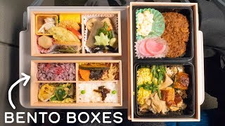 Download JAPANESE LUNCH BOX on Shinkansen Bullet Train Video