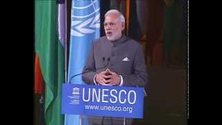 Download PM Modi at UNESCO Video