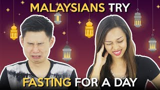 Download Malaysians Try Fasting For A Day Video