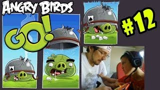 Download Angry Birds GO Pt. 12 - Corporal Pig, You're the WORSTEST! I GIVE UP! (iOS FACE CAM) Video