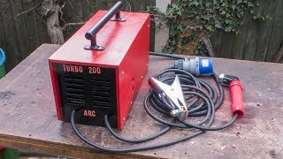 Download Homemade 200 Amp Arc Welder using Microwave Transformers Video