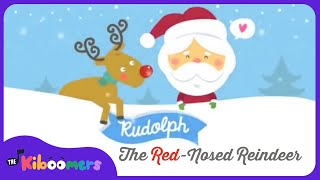 Download Rudolph The Red Nosed Reindeer | Christmas Songs for Kids | Reindeer Song | The Kiboomers Video