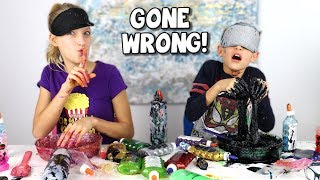 Download BLINDFOLDED SLIME PRANK CHALLENGE GONE WRONG!!! Video