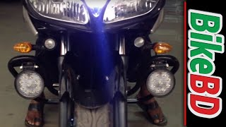 Download led lights for motorcycle yamaha fazer Video