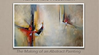 Download The Making of an Abstract Painting - A Bold Contemporary Painting Demo Video