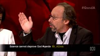 Download Lawrence Krauss answers question on Science & Religion on Q&A Video